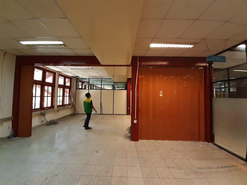 Folding Door PVC Penyekat Ruangan Lipat
