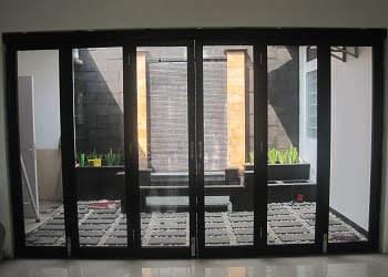 Pintu Lipat Minimalis Visibilitas Ruangan Meningkat